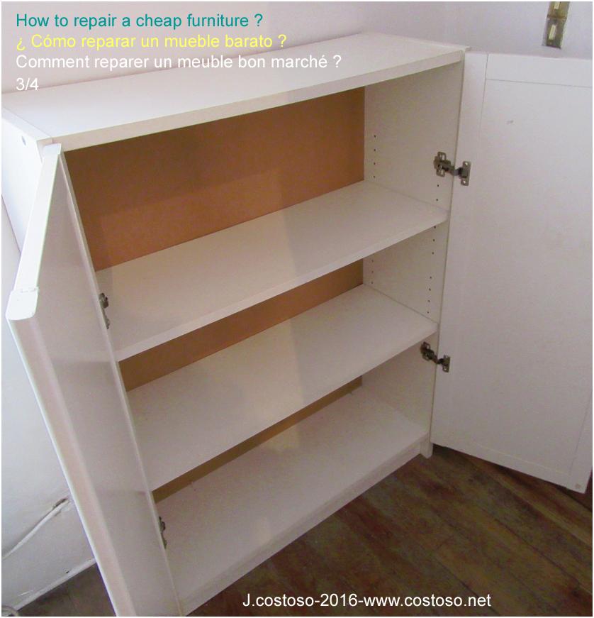 reparer un meuble projets c o s t o s o forums. Black Bedroom Furniture Sets. Home Design Ideas